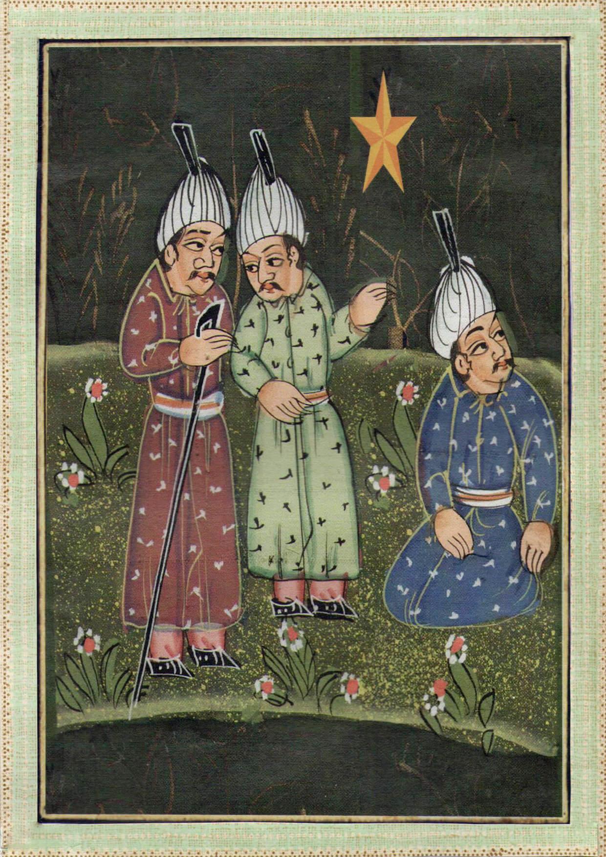 Christmas card - Reach for the Stars
